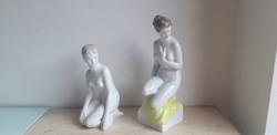 Hollóházi porcelán akt aquincum porcelán akt egyben