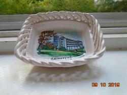 Galyatető souvenir fonott kis tálka