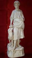 Nagyméretű Royal Dux figura