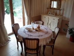 Bécsi barokk étkezőgarnitúra eladó