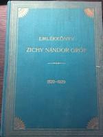 Zichy Nándor Gróf Emlékköny 1829/1929
