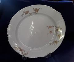 2903- Antik számozott porcelán tál az 1800 évek közepéről