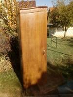 Akasztós és fiókos 58cm széles, 50 cm mély 180 cm magas antik szekrény (elem)
