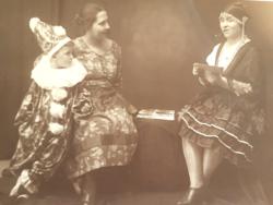 Régi fotó csoportkép vintage fénykép 1928