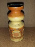 Retro iparművész kerámia váza 19 cm (21/d)