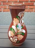Nagyobb kerámia váza, Sárospataki, nagyon szép és hibátlan