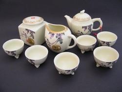 Nagyon szép japán porcelán teás készlet