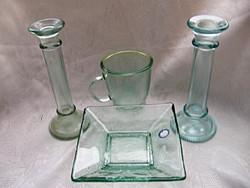 Zöld üveg csomag 4 db-os