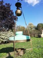 Szecessziós lüszter lámpa