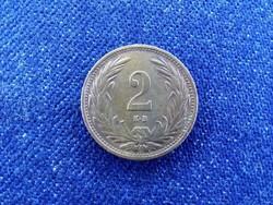 Nagyon szép Osztrák-Magyar 2 fillér 1914 KB BU / id 10632/