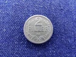 Osztrák-Magyar Korona érmék 2 fillér 1918 KB BU / id 11575/