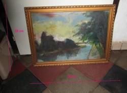 Zentai Pál festménye