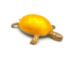 Gyönyörű ezüst zománcos teknős Firenze 41,6 g