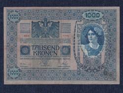 Ausztria 1000 Korona bankjegy 1902 (id11759)