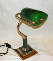 Bank lámpa asztali lámpa