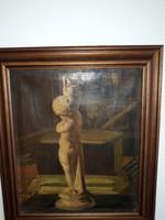 MIKÓ PÁLMA: eredeti festménye 1895-ből