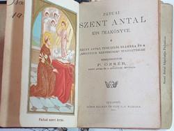 Ráddai Szent Antal kis imakönyve 1910