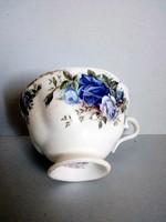 Royal Albert kék rózsás teás csésze