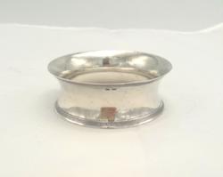 Art deco ezüst szalvétagyűrű