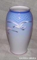 Sirályos váza régi Copenhagen Bing & Grondahl porcelán