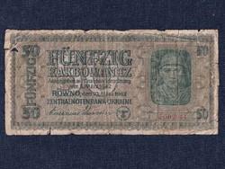 Ukrajna 50 Karbovanec bankjegy 1942 / id 12259/