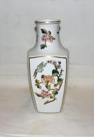 Gyönyörű régebbi Hollóházi kézi festésű váza Io.