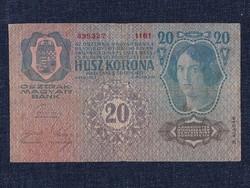 Osztrák-Magyar (1912-1915) 20 Korona bankjegy 1913 / id 11753/