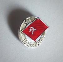 USSR szovjet kommunista kitűző, 1917-1967