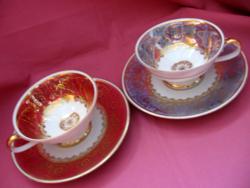 Rieber Bavaria mokkás csésze páros