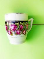 Nagyon régi rózsás kakaós csésze