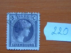 LUXEMBURG 5 C 1926 Charlotte nagyhercegnő 220#