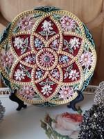 Steidl-Znaim majolika tányér-20 cm