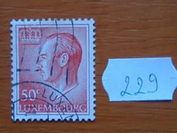 LUXEMBURG 50 C 1965-1988 Jean Definitives nagyherceg 229#