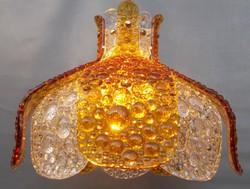 1960's Mazzega Murano Carlo Nason Glass Chandelier