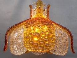 1960's Mazzega Murano Glass Chandelier