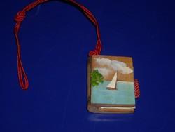 Miniatür balatonfüredi leporello