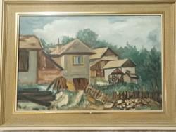 Strapko olajfestmény párban eladó.