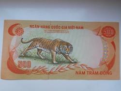 Dél- Vietnám 500 dong 1972 UNC  Ritka!