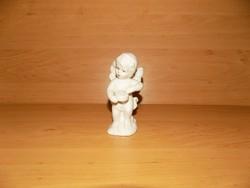 Porcelán angyal putto figura 12 cm (po-1)