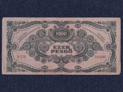Háború utáni inflációs sorozat (1945-1946) 100 Pengő bankjegy 1945 / id 11058/