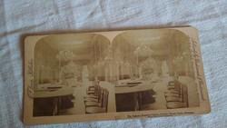 MONTE CARLO CASINO - 1894 - SZTEREO FÉNYKÉP
