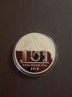 Családok éve 10000 ft ezüst érme certivel 2018 PP