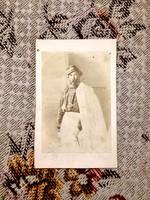 Türr István 1848-as hős, olasz királyi altábornagy, ritka fiatalkori CDV képe, kitűnő állapotban