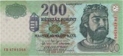 200 Forint 2004 FB - UNC