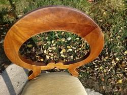 Bájos antik masszív biedermeier szék