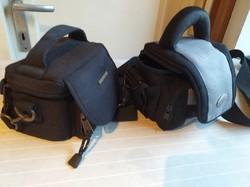 2 db fényképezőgép táska