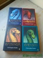 Christopher Paolini: Az örökség 1-4. (Eragon / Elsőszülött / Brisingr / Örökség)