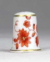 0Y326 Hollóházi porcelán gyűszű SC/B