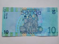 Szamoa  10  tala  2008  UNC további bankjegyek a kínálatomban a galérián!