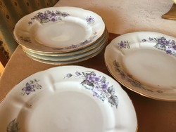 Gyönyörűséges baranovka kis tányérok, 20 cm-esek